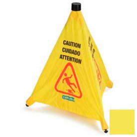 "Pop-Up Caution Cone 20"" - Yellow - Pkg Qty 12"