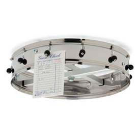 "Carlisle 3816CH - Order Wheel, 18"" Diameter, Stainless Steel, 16 Clips, Ceiling Hung"