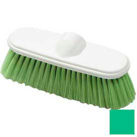 "Flo-Pac® Flo-Thru Nylex Brush With Flagged Nylex Bristles 9-1/2"" - Green - 4005075 - Pkg Qty 12"