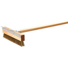 "Carlisle 4029300 - Sparta® Pizza Oven Brush W/ Scraper (Head Only) 10"" - Pkg Qty 12"