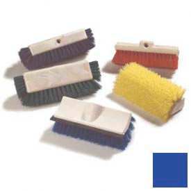 "Sparta® Dual Surface Polypropylene Floor Scrub With Side Bristles 12"" - Blue - Pkg Qty 12"