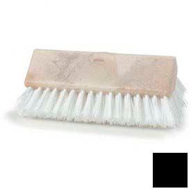 "Sparta® Hi-Lo™ Polypropylene Scrub Brush 10"" - Black - Pkg Qty 12"