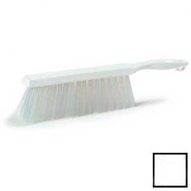 "Spectrum® Counter/Bench Brush 8"" - White - Pkg Qty 12"