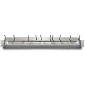 "Spectrum® Aluminum Brush Rack 17"" Long - 4073500 - Pkg Qty 12"