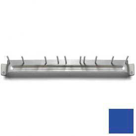 "Spectrum® Aluminum Brush Rack 17"" Long - Blue - 4073514 - Pkg Qty 12"