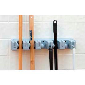 Roll N Grip™ Plus Mop & Broom Holder - Light Blue - 4073700