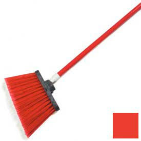 """Sparta® Spectrum® Duo-Sweep® Polypropylene Angle Broom 56"""" Long - Red - Pkg Qty 12"""
