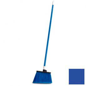 "Sparta® Spectrum® Duo-Sweep® Polypropylene Angle Broom 56"" Long - Blue - Pkg Qty 12"