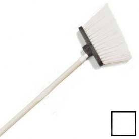 "Sparta® Spectrum® Duo-Sweep® Polyethylene Angle Broom 56"" Long - White - Pkg Qty 12"