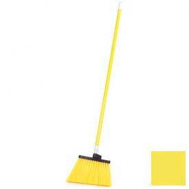 "Sparta® Spectrum® Duo-Sweep® Polyethylene Angle Broom 56"" Long - Yellow - Pkg Qty 12"