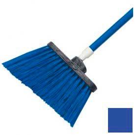 "Sparta® Spectrum® Duo-Sweep® Polyethylene Angle Broom 56"" Long - Blue - Pkg Qty 12"