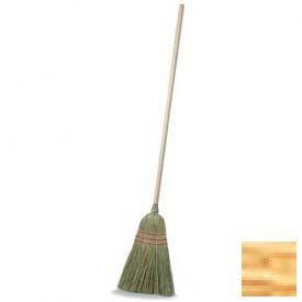 "Housekeeping Broom 55"" - Straw - Pkg Qty 12"