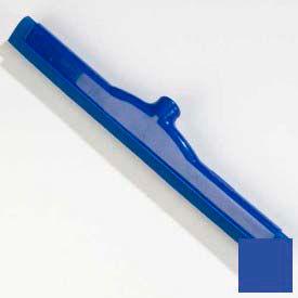 "Spectrum® Plastic Hygienic Squeegee 18"" - Blue - 4156714 - Pkg Qty 6"