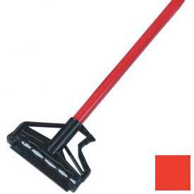 "Sparta® Spectrum® Quik-Release™ Fiberglass Mop Handle 60"" Long / 1"" D-Red - Pkg Qty 12"
