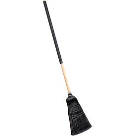 "Carlisle® Flo-Pac® Warehouse/Janitor Broom 4167903, 57""L - Black - Pkg Qty 12"