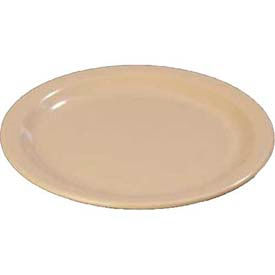 "Carlisle 43501-825 - Dinner Plate 9""- Cash & Carry, Tan, Set Of 12 - Pkg Qty 12"