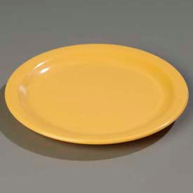 "Carlisle 4350322 Dallas Ware Salad Plate 7-1/4"", Honey Yellow Package Count 48 by Salad Plates"