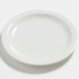 "Carlisle 4385437 Daytona Salad Plate 7-1/4"", Bavarian Cream Package Count 48 by"