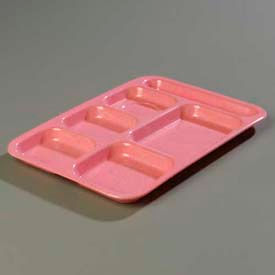 Carlisle 4398900 - Right-Hand Heavy Weight Compartment Tray, Variegated - Pkg Qty 12