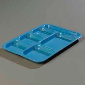 Carlisle 4398992 - Right-Hand Heavy Weight Compartment Tray, Sandshade - Pkg Qty 12