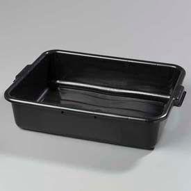 "Carlisle 4401003 - Comfort Curve™ Bus Box 20"" x 15"" x 5"", Black - Pkg Qty 12"
