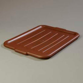 "Carlisle 4401201 Comfort Curve Universal Bus Box Lid 20"", 15"", 3/4"", Brown by"