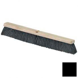 "Flo-Pac® Horsehair Blend Sweep 36"" - Black - Pkg Qty 6"