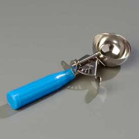 Carlisle 60300-16 - Disher W/ Blue Handle 2-3/4 Oz. - Pkg Qty 12