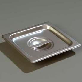 "Carlisle 607160C - Durapan™ 1/6 Size Solid Cover 6-7/8"" x 6-1/4"" - Pkg Qty 6"