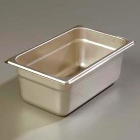 "Carlisle 608144 - Durapan™ Heavy Gauge One-Quarter Size Pan 6-7/8"" x 6-1/4"" - Pkg Qty 6"