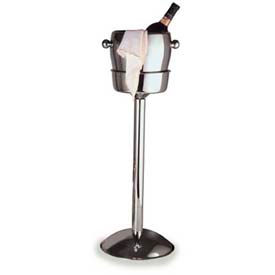 """Carlisle 609146 Wine Bucket Stand 7-5/8"""" x 24"""", Stainless Steel by"""