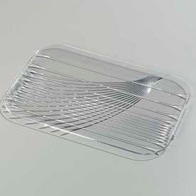 """Carlisle 643907 - Festival Trays™ Handled Tray 19-1/2"""" x 13"""", Clear - Pkg Qty 6"""
