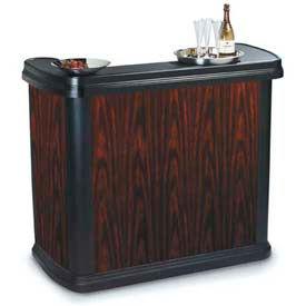 "Carlisle 7550094 Maximizer Portable Bar 56"", 26-1/2"", 48-1/2"", Cherry Wood by"