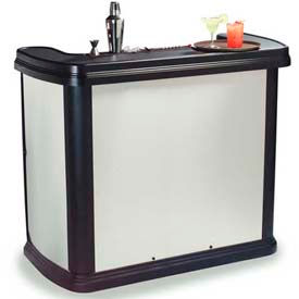 """Carlisle 755044 Maximizer Portable Bar 56"""", 26-1/2"""", 48-1/2"""", Stainless... by"""