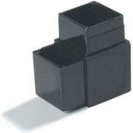 "Carlisle 900231 Sneeze Guard Assembly Blocks 1"" 90° 3 Prong, Gray by"