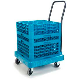 Carlisle C2236H14 - Warewashing Rack Dolly, Blue