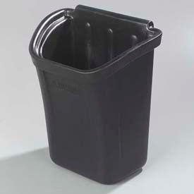 Carlisle CC11TH03 - Trash Bin for Bussing Cart, Black