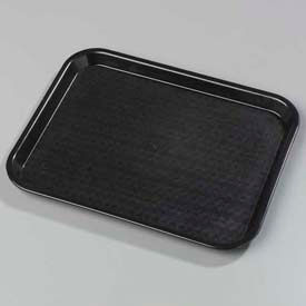 "Carlisle CT101403 - Cafe® Standard Tray 10"" x 14"", Black - Pkg Qty 24"