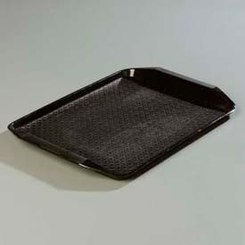 "Carlisle CT121703 Cafe Handled Tray 12"" x 17"", Black Package Count 24 by"