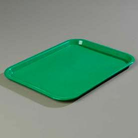 "Carlisle CT141809 - Cafe® Standard Tray 14"" x 18"", Green - Pkg Qty 12"