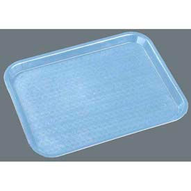 "Carlisle CT141859 - Cafe® Standard Tray 14"" x 18"", Slate Blue - Pkg Qty 12"