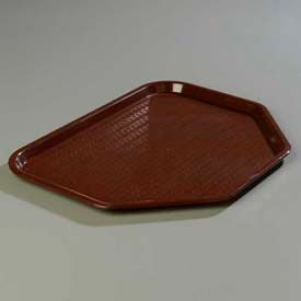 "Carlisle CT1713TR69 - Cafe® Trapezoid Tray 18"", 14"", 13/16"", Chocolate - Pkg Qty 12"