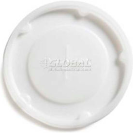 Dinex DX1196ST8714 Translucent Lid Straw Slot-Fits 8 Oz. Plastic Tumbler Clear by