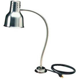 "Carlisle HL818500 - FlexiGlow™ Single Arm Heat Lamp 24"", Aluminum"