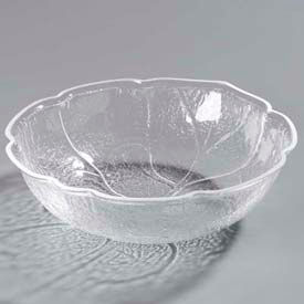 "Carlisle LB1207 - Leaf Bowl, 3 Qt., 11-1/4"", Clear - Pkg Qty 4"