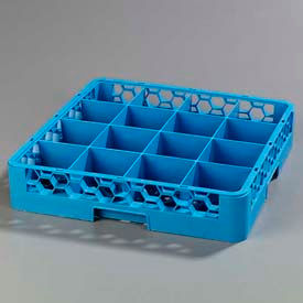 Carlisle RC1614 - Opticlean™ 16-Compartment Cup Rack, Blue - Pkg Qty 6
