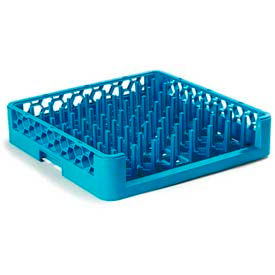 Carlisle ROP14 - Opticlean™ Open End Peg Rack, Carlisle Blue - Pkg Qty 6