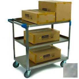 Carlisle® UC5031827 Stainless Steel Utility Cart 500 Lb. Capacity 18x27
