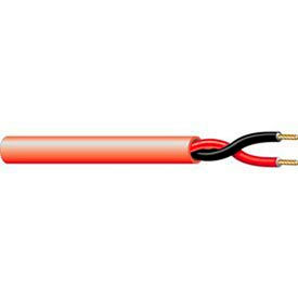 Convergent Connectivity Technology 4054RD1S 12AWG 2C Solid Fire Alarm Cable FPLR 1,000 Ft. Spool Red