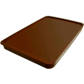 Cortech USA, 3000CL, X-Tray Food Tray Lid, Insulated, Chocolate, 10/Pack